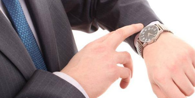Dikkat! Saatinize bakıp zamanı söyleyemiyorsanız...