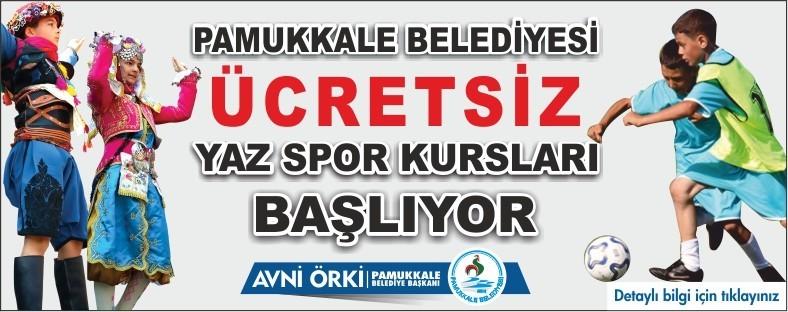 Dil kurslarının yanında futbol ve halk oyunları kurslarıda açıldı
