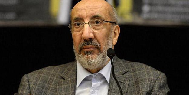 Abdurrahman Dilipak'tan 'FETÖ'ye af' açıklaması