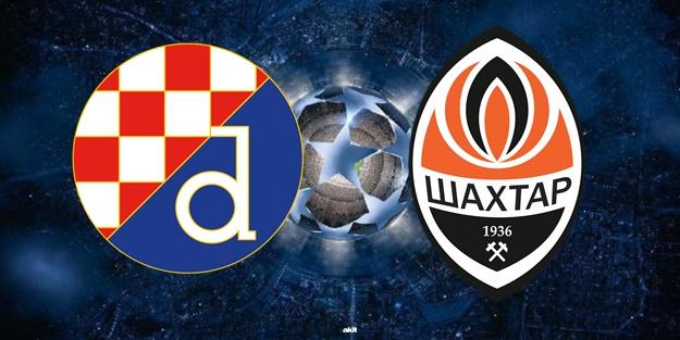 Dinamo Zagreb Shakhtar Donetsk maçı ne zaman saat kaçta hangi kanalda?
