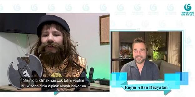 Diriliş Ertuğrul oyuncusu Engin Altan Düzyatan yurt dışındaki hayranlarıyla buluştu