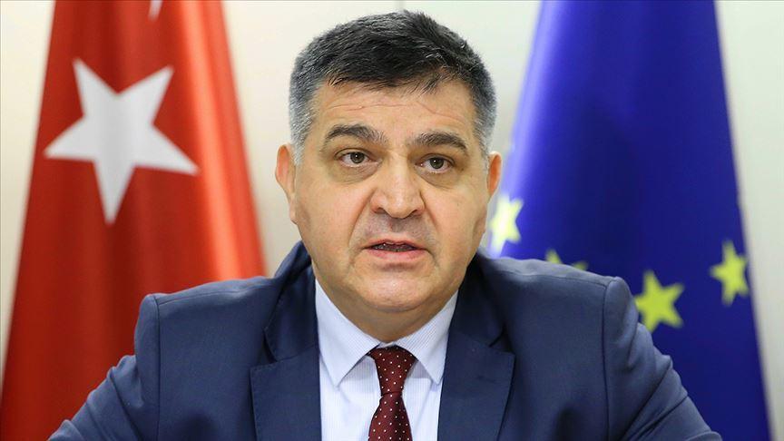 Dışişleri Bakan Yardımcısı Kaymakcı: Korona krizi, Türkiye ve AB'yi daha da yakınlaştırdı