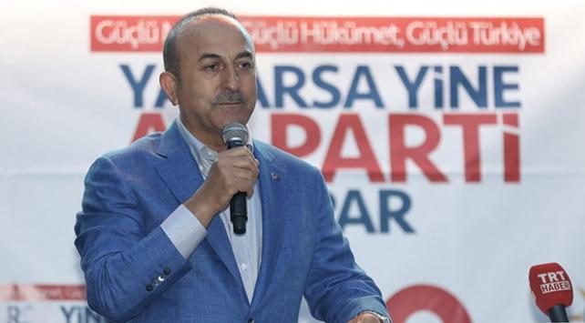 Dışişleri Bakanı Çavuşoğlu: Güçlü kurumlarla, hızlı kararlarla Türkiye şaha kalkacak