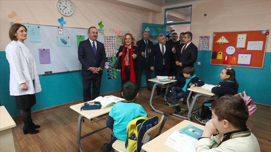 Dışişleri Bakanı Çavuşoğlu: Maarif Vakfı Gürcistan'da yeni okullar açacak