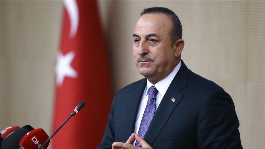Dışişleri Bakanı Mevlüt Çavuşoğlu, Arnavutluk Dışişleri Bakanı ile telefonda görüştü