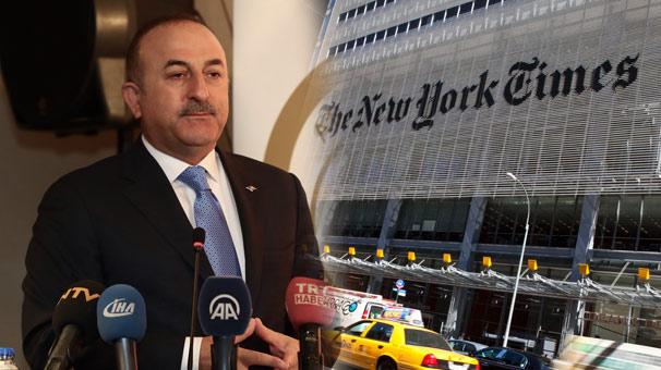 Dışişleri Bakanı Mevlüt Çavuşoğlu The New York Times için yazdı