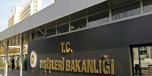 Dışişleri Bakanlığı o saldırıyı kınadı
