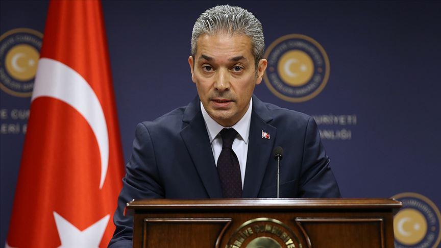 Dışişleri Sözcüsü Hami Aksoy: İngiltere'nin PKK uzantılarını terör listesine eklemesini memnuniyetle karşılıyoruz