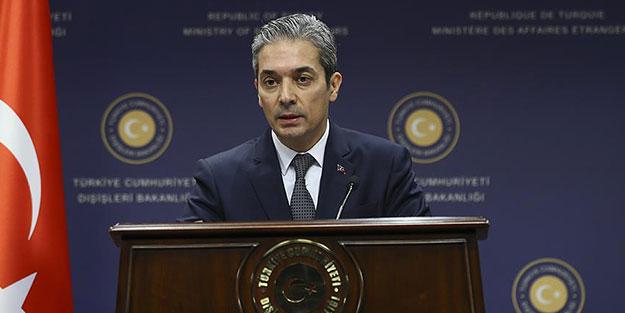 Dışişleri'nden Miçotatakis'e 'göçmen' cevabı