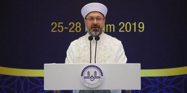 Diyanet İşleri Başkanı Ali Erbaş, 6. Din Şurası'nda alınan kararları açıkladı