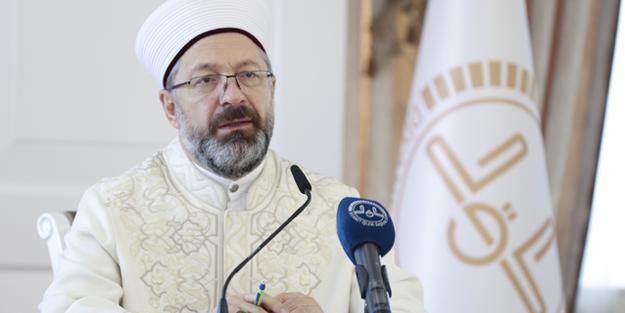 Diyanet İşleri Başkanı Ali Erbaş: Din ve eğitim hizmetlerimizi en ileri seviyeye getirmek zorundayız