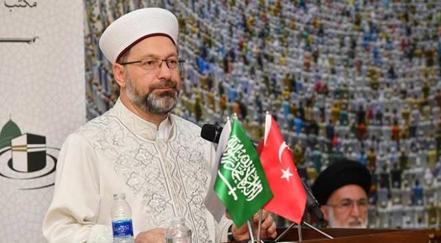 Diyanet İşleri Başkanı Ali Erbaş: Taşeron terör örgütlerle mücadele etmeliyiz