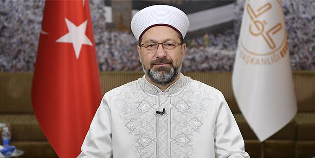 Diyanet İşleri Başkanı Ali Erbaş: Türk-İslam sanatlarının tanıtımına katkı sağlanacak!