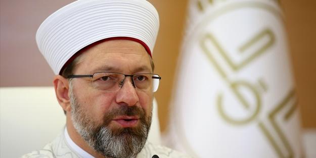 Diyanet İşleri Başkanı Ali Erbaş'tan yerli malı vurgusu