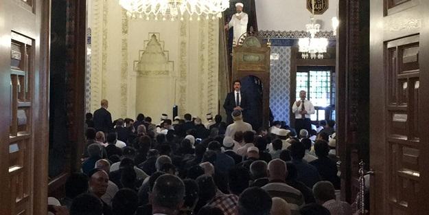 Diyanet İşleri Başkanı Erbaş, Hacı Bayram Camii'nde hutbe irad etti