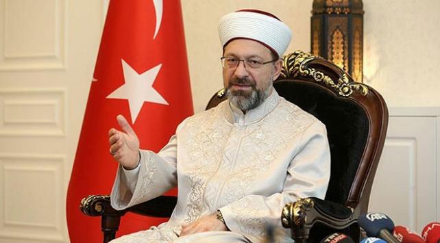 Diyanet İşleri Başkanı Erbaş: Hocalarımız 81 ili dolaşarak israf konusunu ele aldı