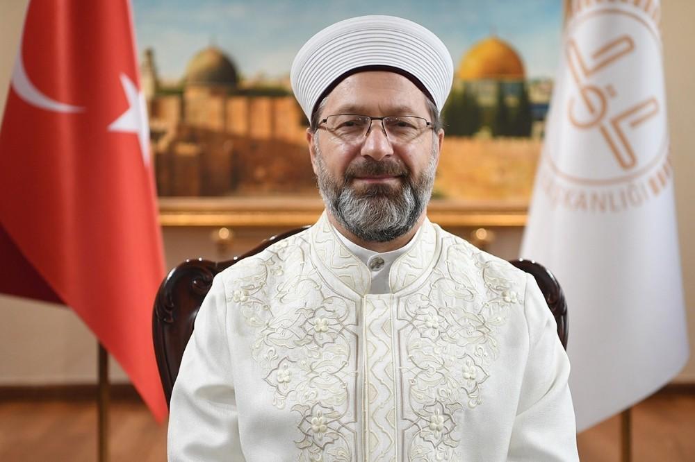 """Diyanet İşleri Başkanı Erbaş: """"Mücadelemiz, Kudüs tamamen özgür oluncaya kadar devam edecektir"""""""