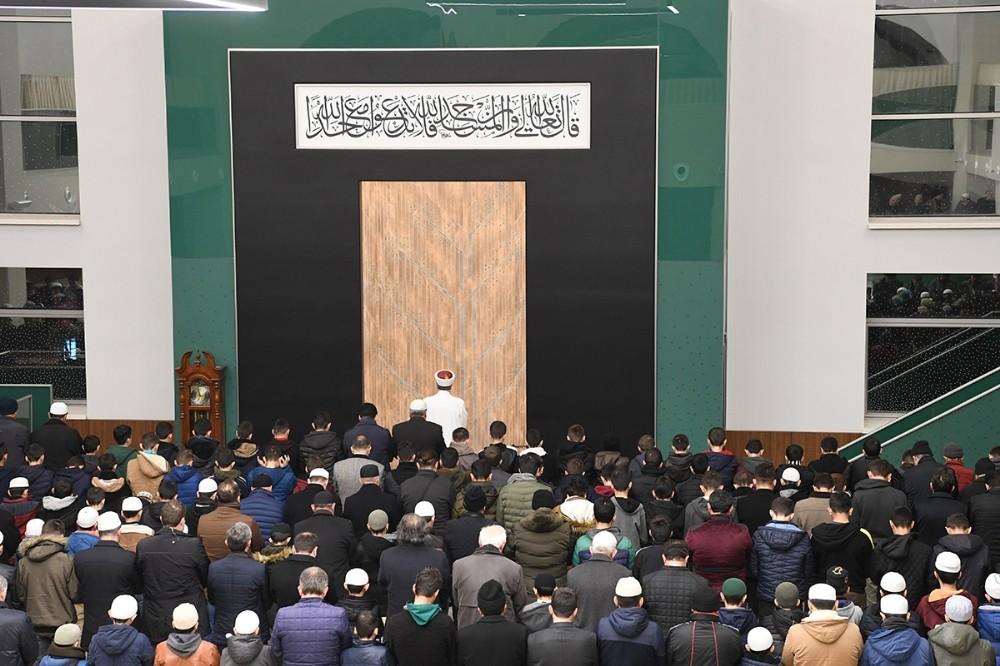 """Diyanet İşleri Başkanı Erbaş: """"Namaz, müslümanın alametifarikasıdır"""""""