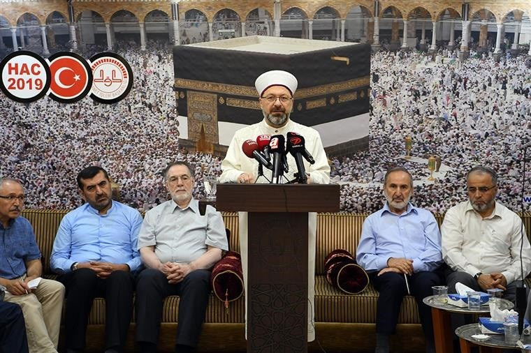 Diyanet İşleri Başkanı Erbaş'tan Kurban Bayramı mesajları