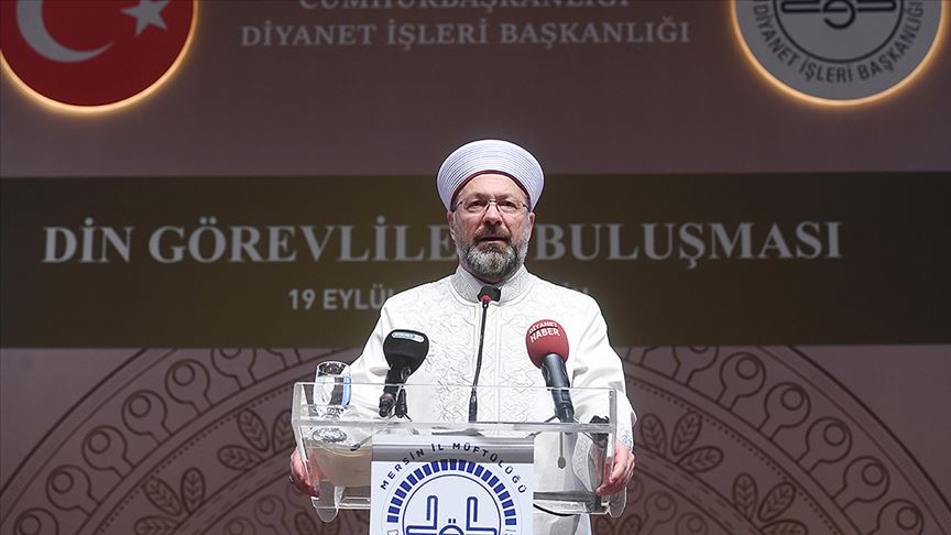 Diyanet İşleri Başkanlığı: İslam'da hayatın, şehrin ve medeniyetin merkezinde cami var