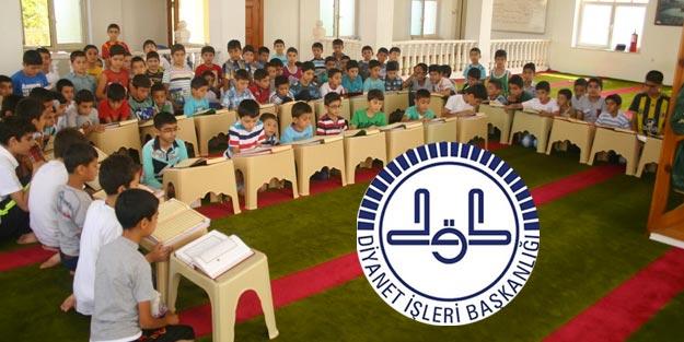 Diyanet Kuran öğretici alımı 2019