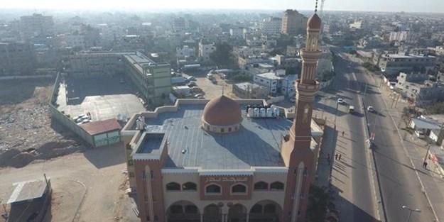 Diyanet Vakfı İsrail'in Filistin'de yıktığı camileri yeniden inşa etti