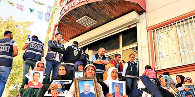 Diyarbakır anneleri Kandil'i sarstı
