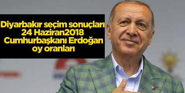 Diyarbakır ili 24 Haziran seçim sonuçları