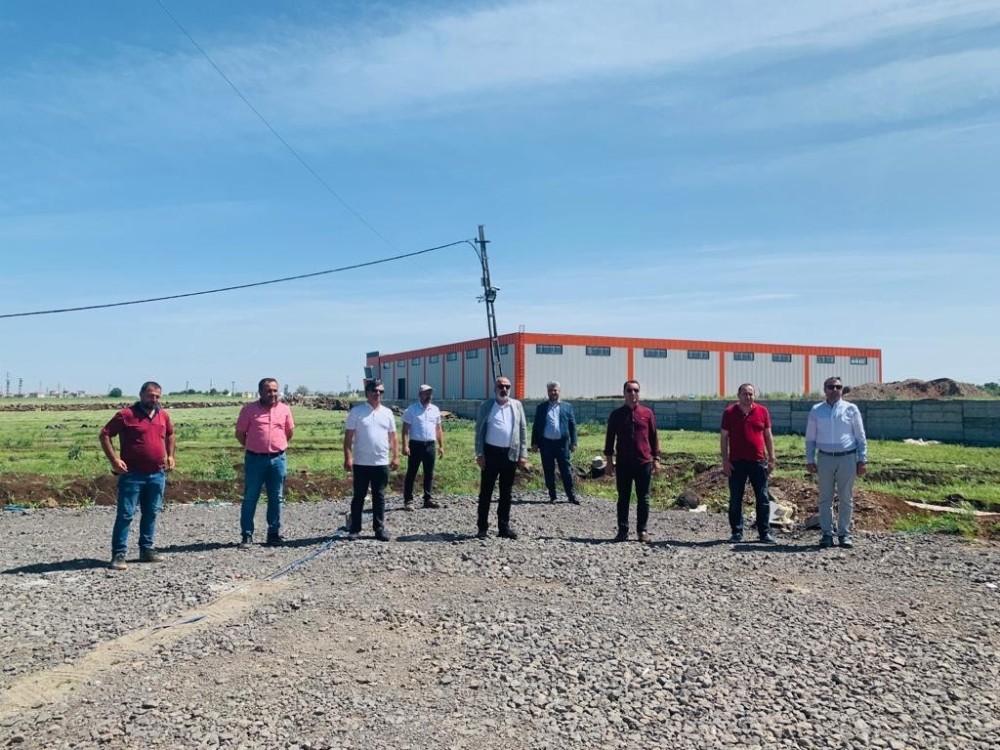 Diyarbakır Tekstil OSB'de fabrikalar üretim yapmaya hazır