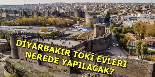 Diyarbakır TOKİ başvuruları nasıl yapılır? TOKİ Diyarbakır projeleri hangi ilçelerde?