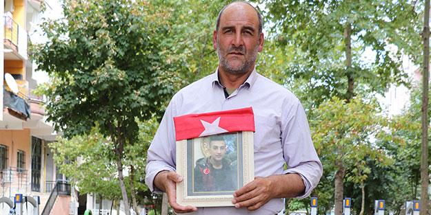 Diyarbakır'da eylem yapan baba: PKK'ya 20 bin TL verdim, oğlumu vermediler