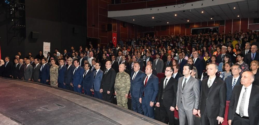 Diyarbakır'da İstiklal Marşı'nın kabulü ve Mehmet Akif Ersoy'u anma etkinliği