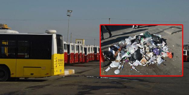 Diyarbakır'da otobüsler çalışmıyor, çöpler toplanmıyor!