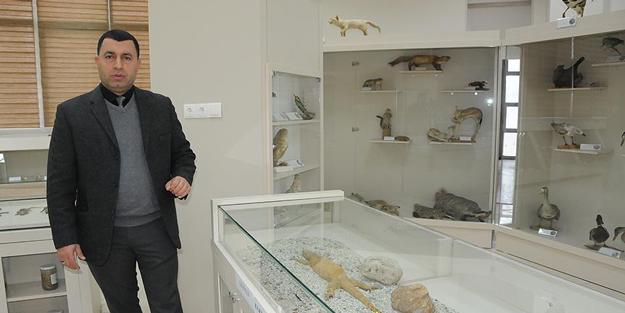 Diyarbakır'da 'Zooloji Müzesi' açıldı