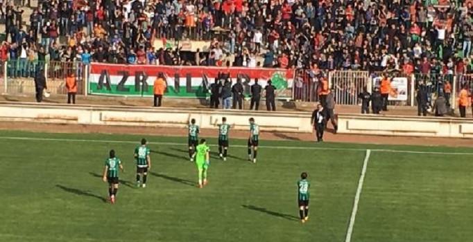 Diyerbekirspor-Sakarya maçında güzel görüntüler ortaya çıktı