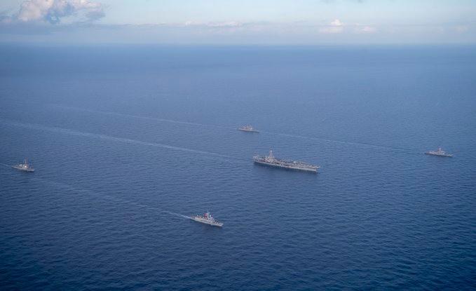 Doğu Akdeniz'de kritik gelişme! Türk gemileri o ülkenin gemileriyle ortak eğitimde