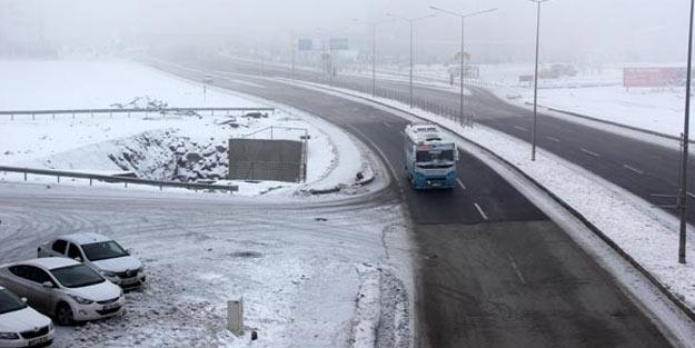 Doğu Anadolu Bölgesi buz tuttu!