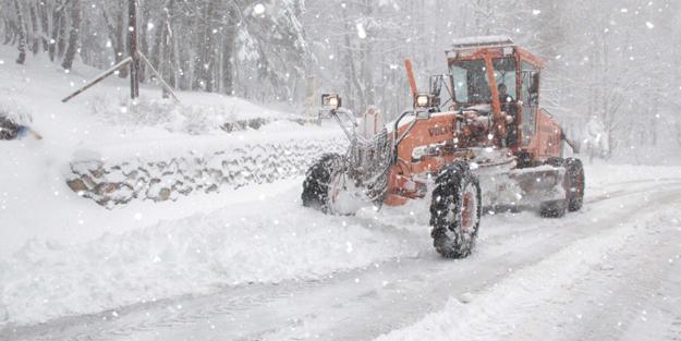 Doğu illerinde kar yağışı etkisini arttırdı