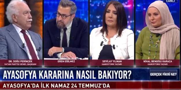 Doğu Perinçek'ten Ayasofya ve M. Kemal açıklaması