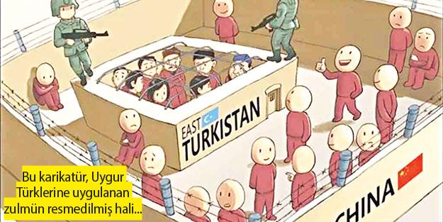 Doğu Türkistan Çin hapishanesi