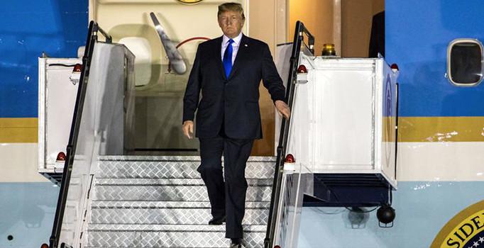 Donald Trump, tarihi zirve için Singapur'da