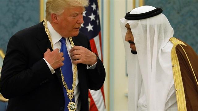 Donald Trump'a Kral'dan devlet nişanı