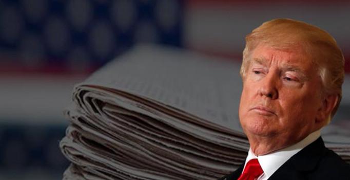 Donald Trump'ın 'ek vergi' kararına bir tepki de ABD medyasından