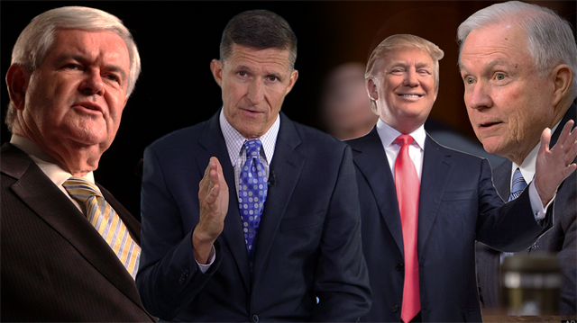Donald Trump'ın şahinleri