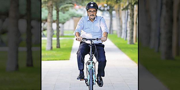 Dönmez, Hareketlilik Haftası'nda pedal çevirdi