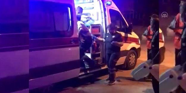 Dördüncü kattan düşen bebek ağır yaralandı