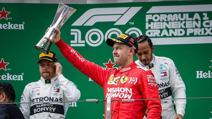 Dört kez F1 şampiyonu Vettel, Ferrari'den ayrılıyor