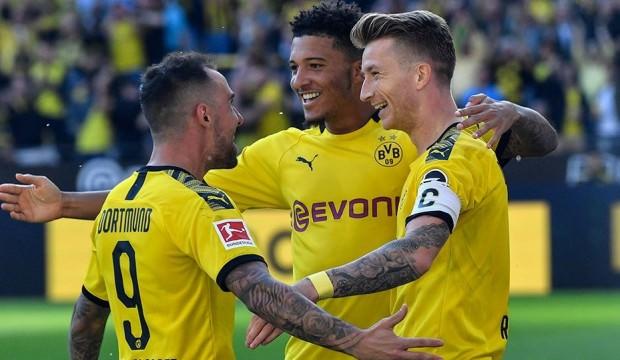 Dortmund'dan 4 gollü galibiyet sevinci