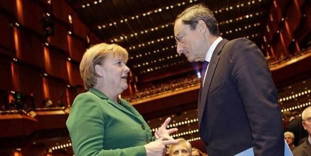 Draghi ve Merkel'den Türkiye açıklaması