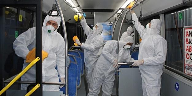 DSÖ açıkladı: Toplu taşıma araçlarındaki dezenfektan püskürtme işlemi koronavirüsü öldürüyor mu?